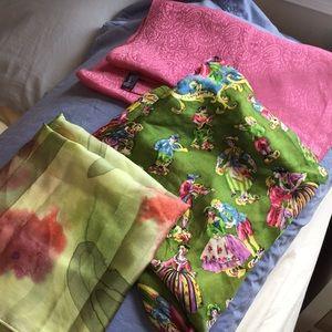 Silk scarf bundle